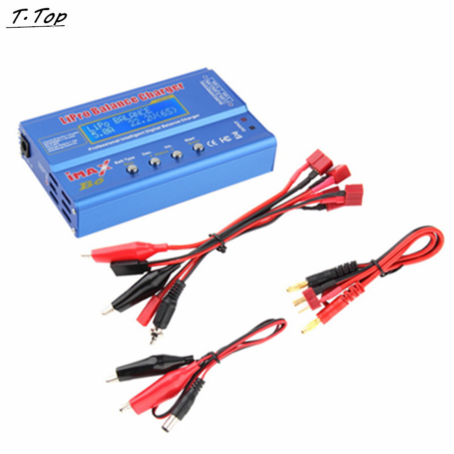iMAX B6 80W Lipo NiMh Li-ion RC Battery Balance Digital Charger With T plug For RC Toy Quadcopter shivaki sch 364be suh 364be