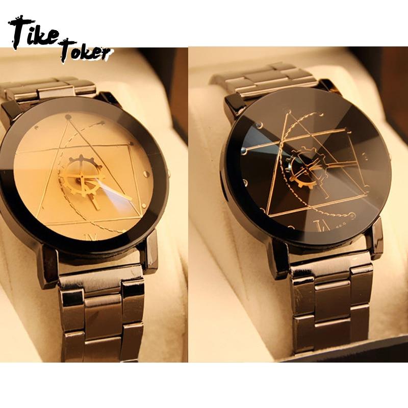 TIke Toke,Gofuly 2018 New Luxury Watch Fashion Stainless Steel Watch For Man Quartz Analog Wrist Watch Orologio Uomo Hot Sales11