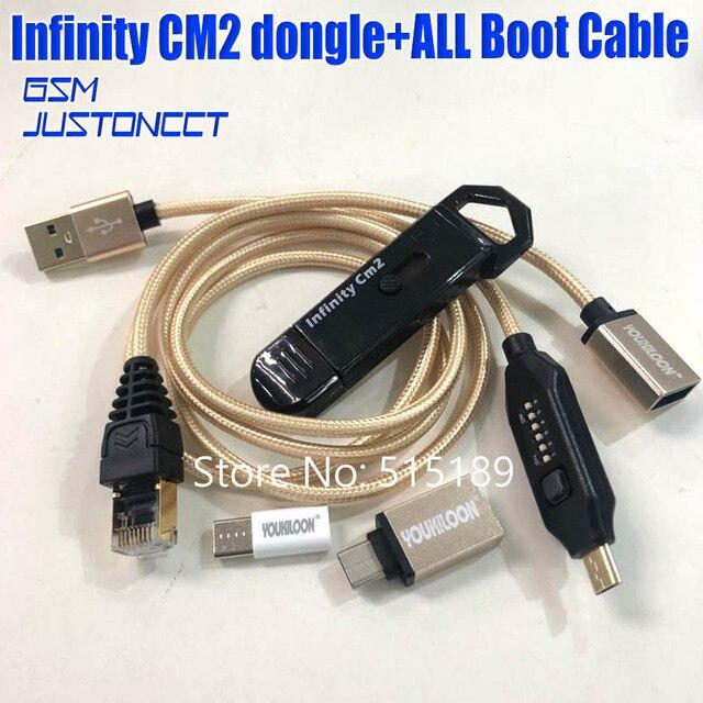 2019 original new infinity cm2 dongle infinity box dongle + umf tất cả trong một cáp khởi động cho GSM CDMA điện thoại
