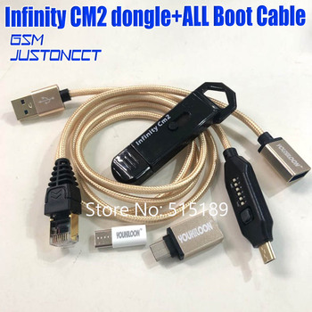 2020 original new infinity cm2 dongle infinity box dongle + umf all in one boot cable  for GSM CDMA phones