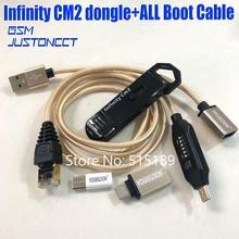 2021 מקורי חדש אינפיניטי cm2 dongle אינפיניטי תיבת dongle + umf כל אחד אתחול כבל עבור GSM CDMA טלפונים
