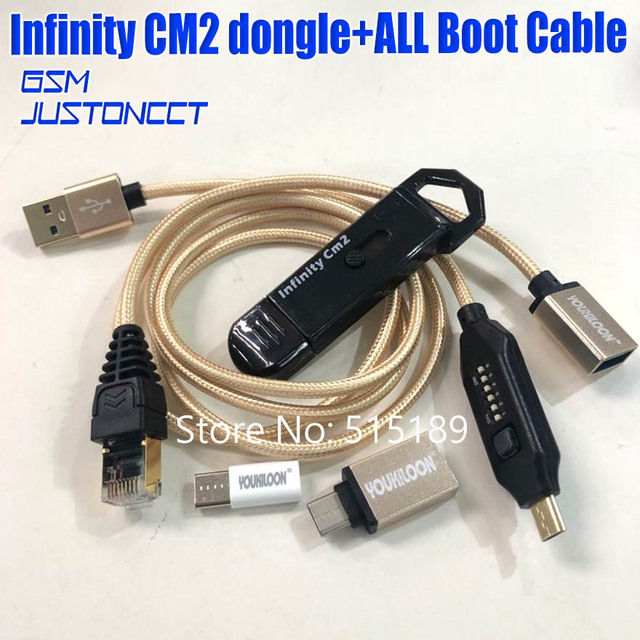 2021 original nuevo infinito cm2 dongle caja de infinito dongle + umf todo en una bota de cable para teléfonos CDMA GSM