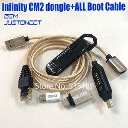 Originale di 2019 di trasporto del nuovo infinity cm2 dongle infinity box dongle + umf all in one cavo di avvio per GSM CDMA telefoni