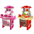 Kids Kitchen set children Kitchen Toys Large Kitchen Cooking Simulation Model Play Toy for Girl Baby oyuncak mutfak