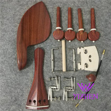 1 set high quality rosewood violin parts 4/4, violin accessories