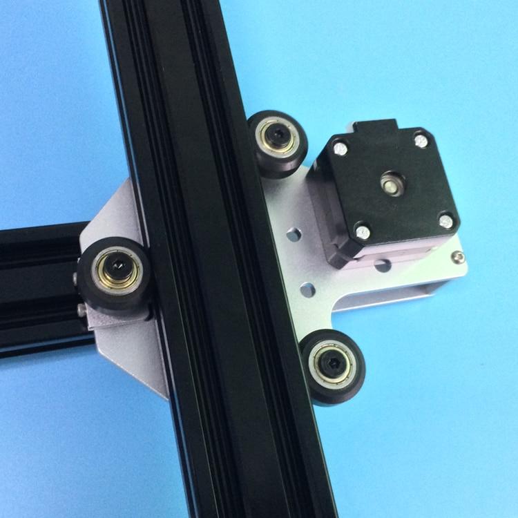1 set Tronxy 3D imprimante mise à niveau en aluminium X axe moteur montage 2040 v-slot pour Tronxy 3D imprimante - 3