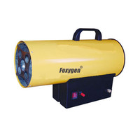30kw CE certification portable LPG Gas Forced air heater for stretch ceiling film