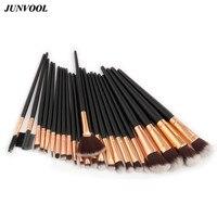 24pcs Makeup Brushes Set Soft Synthetic Hair Full Professional Powder Foundation Eyebrow Eyeliner Blush Makeup Artist