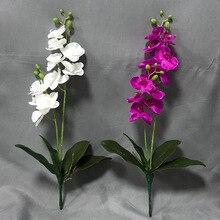 Klonca Natural Handmade PU 58cm 1pc/lot Artificial Flower Fake Phalaenopsis Home Decoration Gift