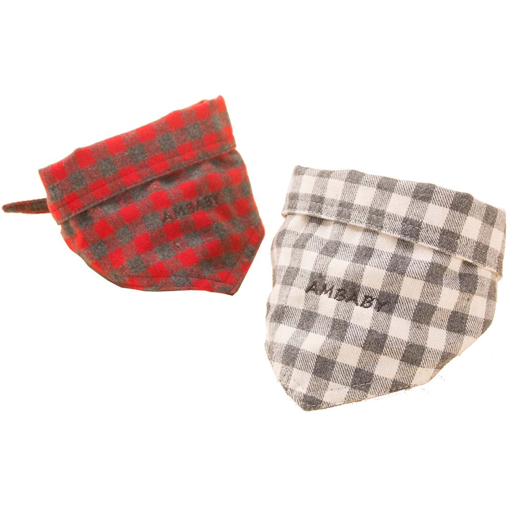 Teddy Plaid Us 4 84 Pet Dog Cat Necktie Triangular Bandage Bib Towel Soft Plaid Scarf Christmas Style For Teddy Chihuahua Small Large Dog S Gift In Dog
