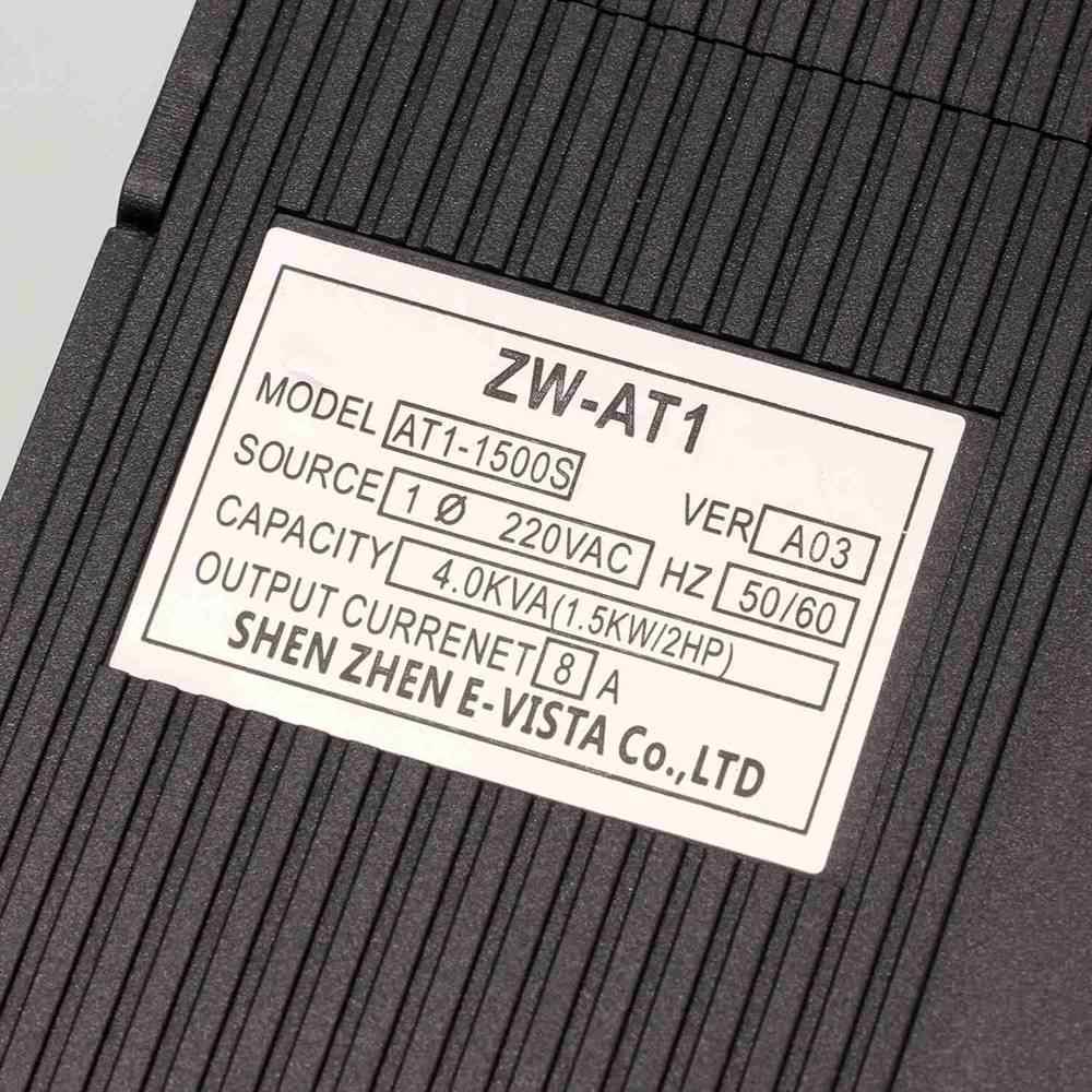 VFD 1. 5 кВт/2. 2 кВт/4 кВт CoolClassic преобразователь частоты ZW-AT1 3P 220 В выход с небольшой платой доставки CNC скорость вращения шпинделя двигателя wcj8