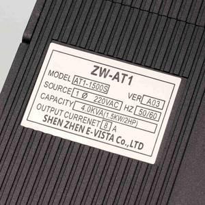 Image 4 - VFD 1.5KW/2.2KW/4KW CoolClassic convertitore di frequenza ZW AT1 3P 220V di Uscita con Po Di tassa di trasporto CNC velocità del motore mandrino wcj8