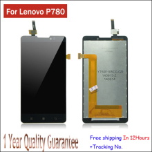 In Stock!100% Original Hot Sale LCD Display Touch Digitizer Screen Panel Assembly Complete For Lenovo P780 Test ok+Tracking Code