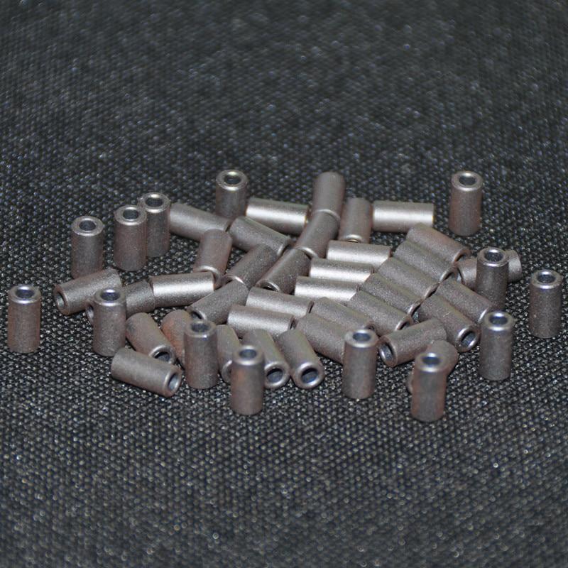 50 шт. ферритовый сердечник EMI фильтр 4X2X8 мм ферритовые сердечники кольцо антипаразитный тороид тороидальный шарик катушки ферритов железа подавление