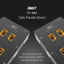 ISDT PC-4860 1-8 S Seguro Placa Paralela XT60 Plug Placa De Carregamento Paralelo Para SC-608 SC-620 Drone Acessórios