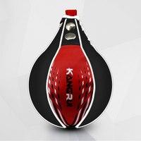 Kick Boxing Speed Ball Sports Accessories Fitness PU Leather MMA Martial Arts Sanda Fitness Training Pear