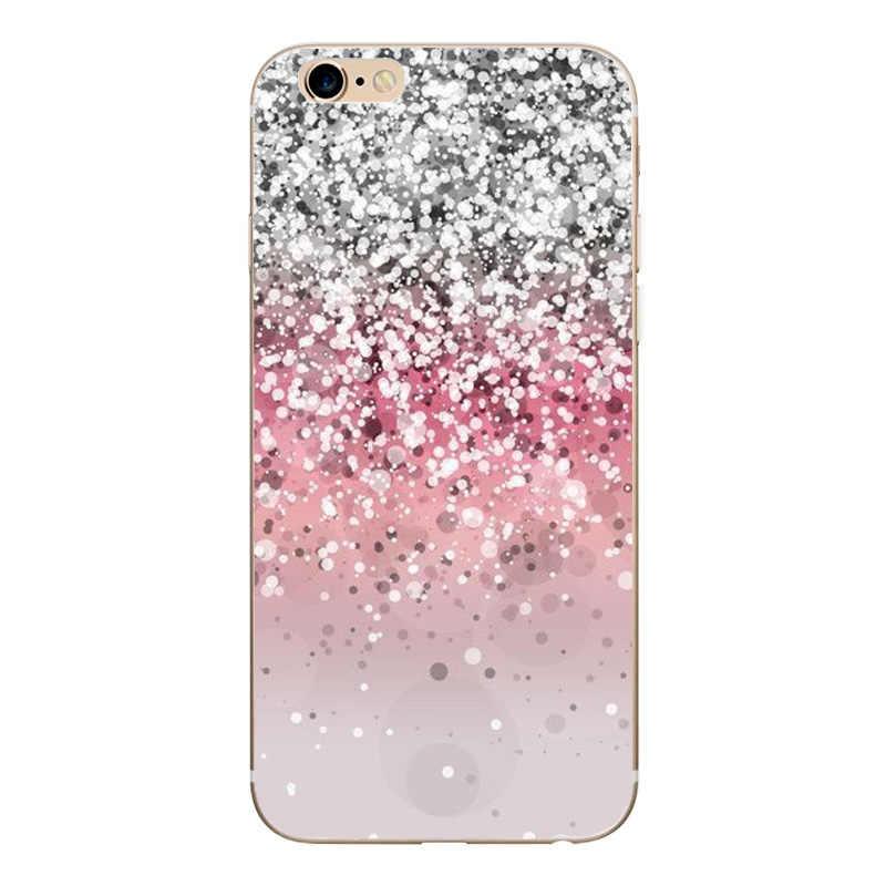 Fundas için iphone 5 S 5 S SE durumda kapak Apple iphone 6 6S 7 8 artı X XS sevimli Minnie silikon telefon kapağı iphone için kılıf 7 capas
