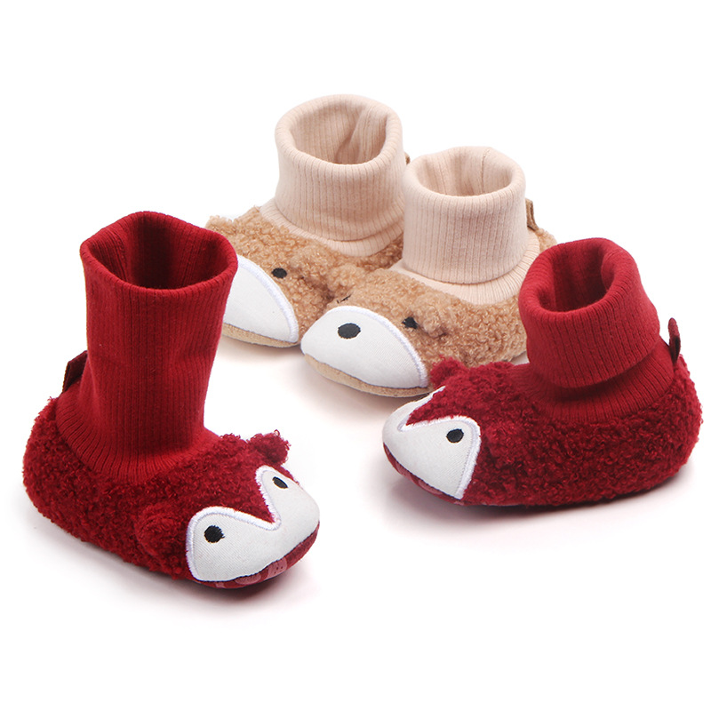 Brand Baby Shoes Winter Warm Cartoon Win