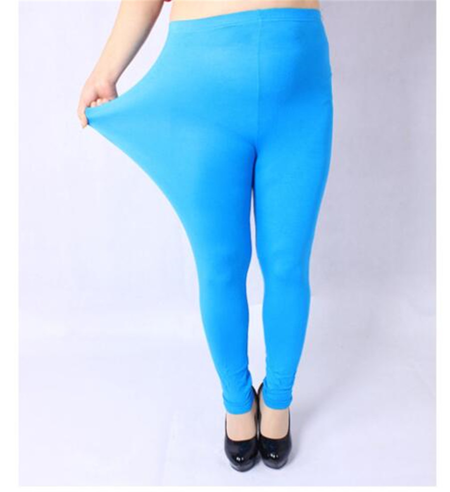 07314b6f7c408e NEW Autumn Winter Legging Large size XXXL XXL for Sexy Elastic Soft Show  Thin Women All match Leggings Plus size 10 Colors-in Leggings from Women's  Clothing ...