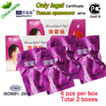 12pcs/2 boxes beautiful life tampon feminine hygiene bang de li herbal clean point tampon vaginal tampons yeast infection