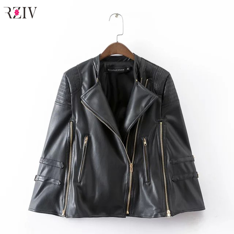 Popular Black Gold Leather Jacket-Buy Cheap Black Gold Leather