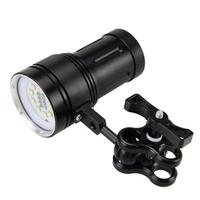 2018 Outdoor sport cycling light 0x XM L2+4x R+4x B 12000LM LED Photography Video Scuba Diving Flashligh bicycle accessories B25
