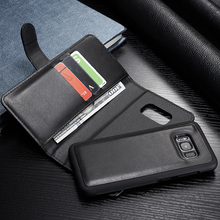 NEW For Galaxy S8 Plus Multifunction Wallet Leather Case for Galaxy S8 Plus Zipper Wallet Card Money Bag Holder Stand Cases