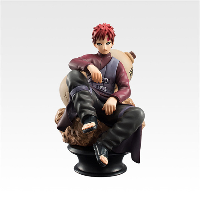 6pcs/set Naruto Action Figures Dolls Chess Anime Pvc 9cm