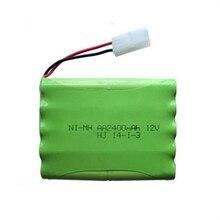 1pc 12v 2400mah ni mh bateria 12v rc battery nimh battery pilas recargables 12v pack 10x