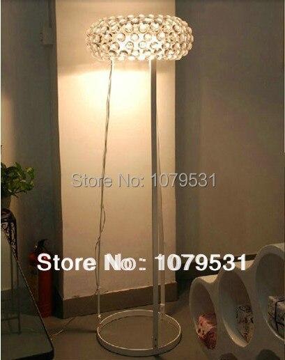 50cm1968 modern caboche floor lamps acrylic decorative floor light bedroom lamparas colgantes - Decorative Floor Lamps