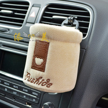 Free shipping neutral style of business car styling air outlet storage holder bucket automobile carrying mobile phone bag