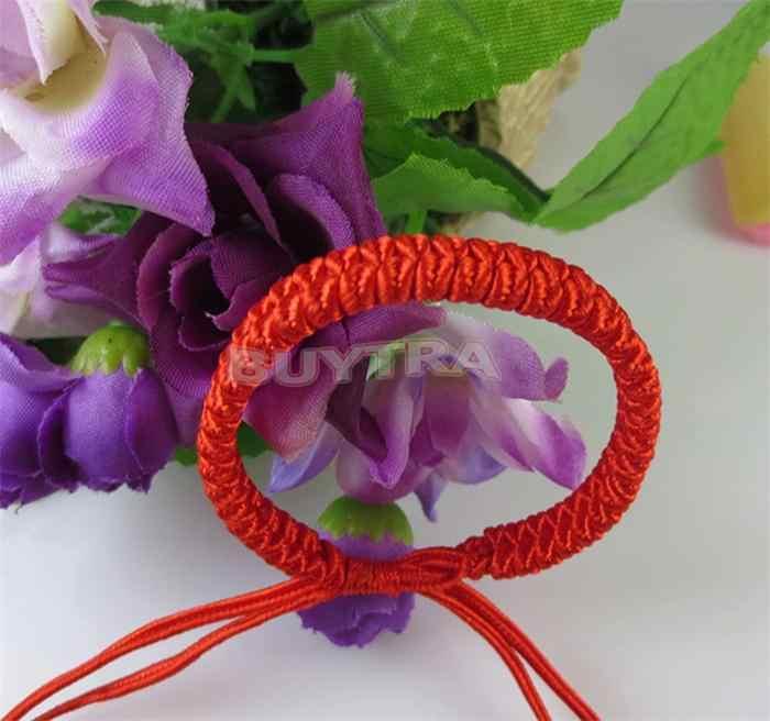 Czerwona linka łańcuszek i Link macha bransoletka sznurkowa kobiety mężczyźni biżuteria bransoletka Surf bransoletka nadgarstek ręcznie