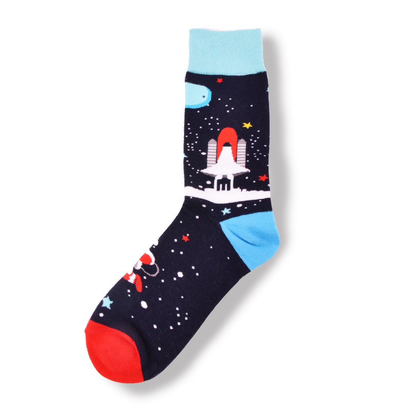 Funny animal SLOTH YOGA Socks Mens Womens Casual Socks Custom Creative Crew Socks