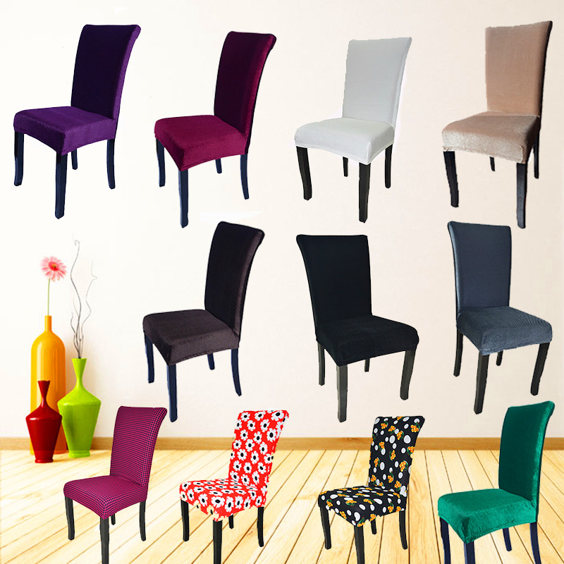 1pcs fashion antifouling chair cover dining office chair for 6 dining room chair covers
