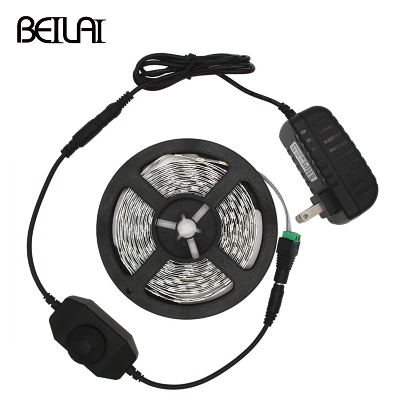 Beilai 5630 Dimmable Led Strip 5m 300led Not Waterproof Dc 12v Fita