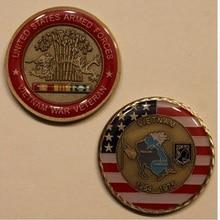 1964-1975 армии США-ветеринарная Армия Военно-морские силы авиация Береговая охрана, Вьетнамская война Ветеран наградная монета