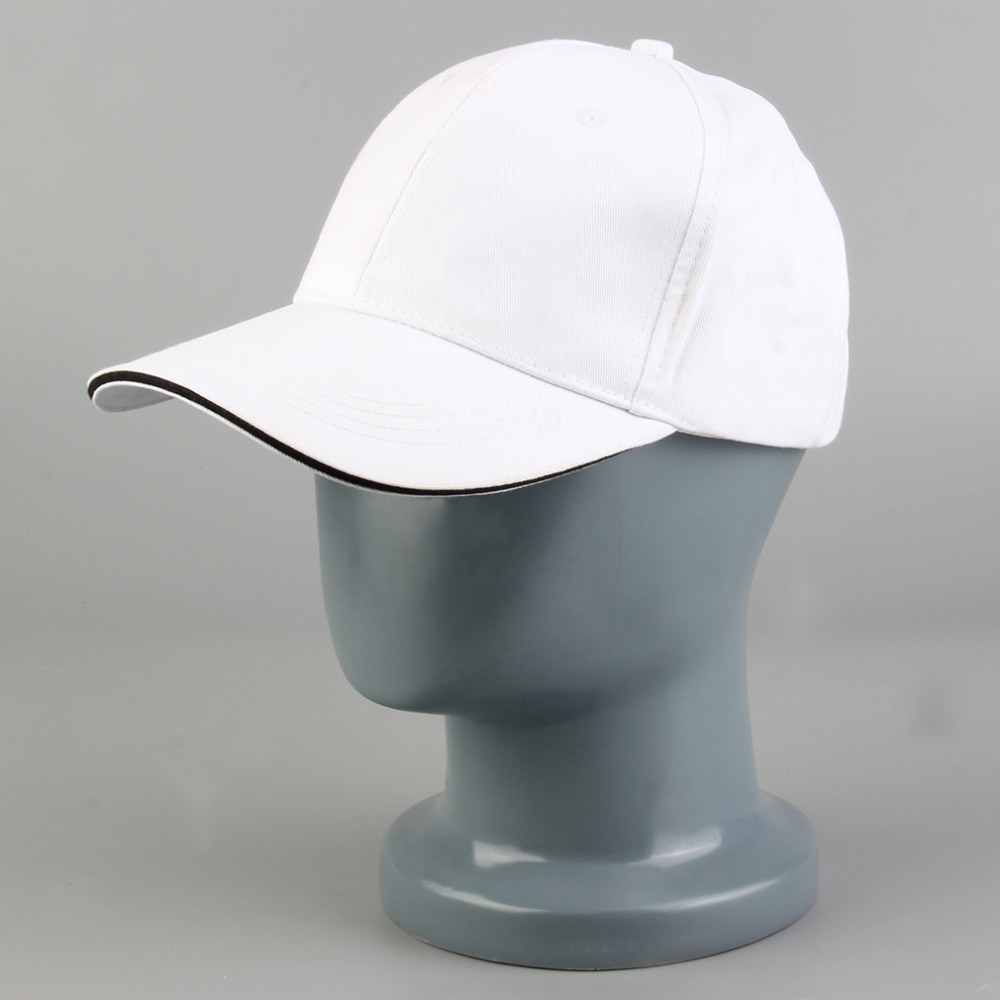 c0d182c52373a Blank Curved Plain Baseball Cap Visor Hat Gppd Solid Color Adjustable with grey  white black khaki red snapback baseball hat-in Baseball Caps from Apparel  ...