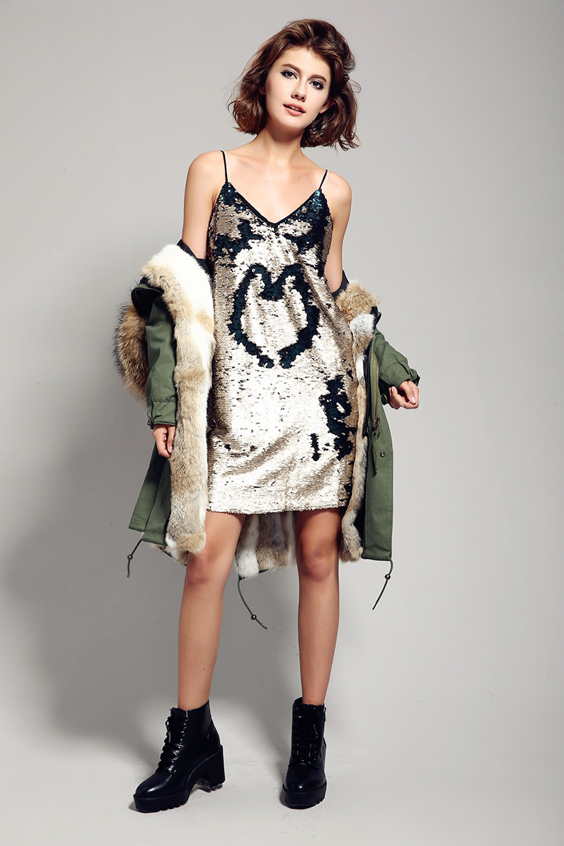 outwear rabbit coat fur 4