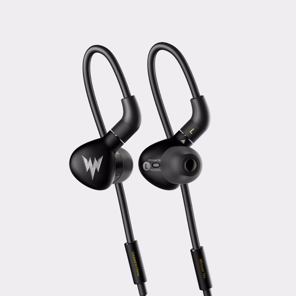 2017 Newest Whizzer Haydn A15 Pro In-ear Monitor Dynamic Earphone HIFI Bass Copper Headset All-metal With MMCX 2017 new magaosi k3 pro in ear earphone 2ba hybrid with dynamic hifi earphone earbud with mmcx interface headset free shipping