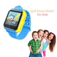 Cute Q10 3G Network Smart Watch For Children With Camera GPS Positioning SOS Tracker Alarm Wristwatch Kids' Wearable Devices