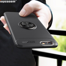 Luxury Case For OPPO A59 A59S Cover soft Finger Ring Car Magnet shell F1S Coque 5.5