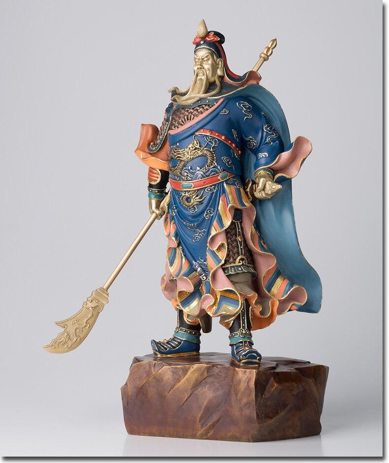Große # HOME OFFICE SHOP Unternehmen Wirksam Talisman Geld Zeichnung TOP Martial Gott des reichtums Guan gong Guan di FENG SHUI statue-in Statuen & Skulpturen aus Heim und Garten bei  Gruppe 2