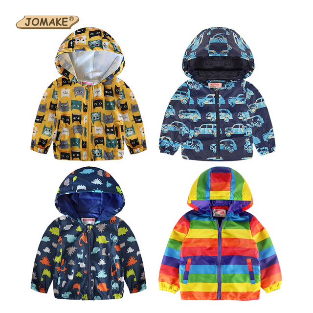 da9406441 JOMAKE Cute Cartoon Spring Children Coat Autumn Kids Jacket Boys ...