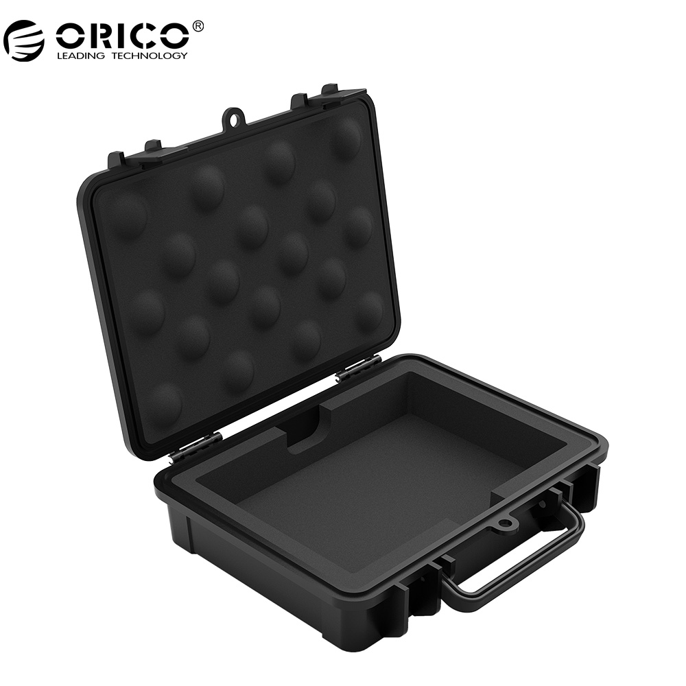 ORICO PHF 3.5 inch HDD Protective Box / Storage Case Water-proof + Shock-proof + Dust-proof Function Safety Label Design ...