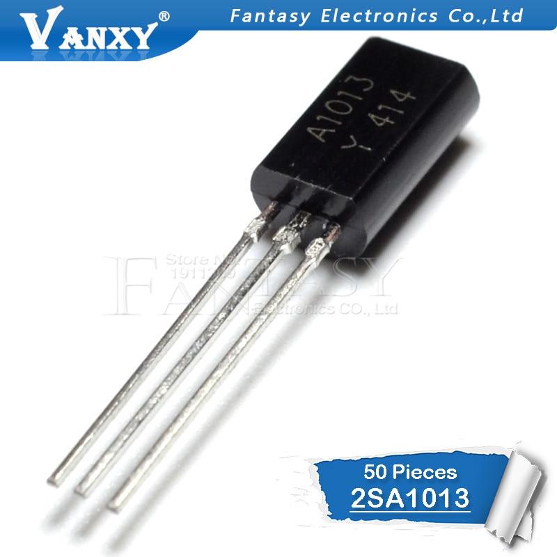 2sa1013 - 50PCS 2SA1013 TO92 A1013 TO-92 Bipolar Transistors - BJT Transistor PNP 160V 1A  new and original