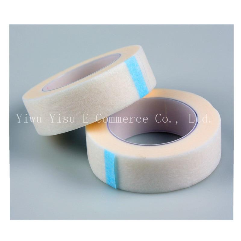 Hot 500PCS/SET Silk Eye Pad Eyelash Extension under Patch Makeup Tool Individual False Eyelash Non-woven Lsolated Tool Wrap Tape