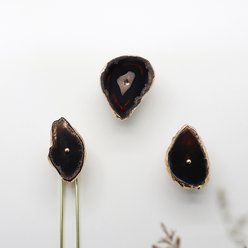 Ins style natural agate+…