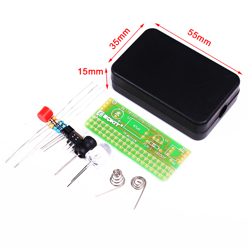 Soldering Electronic Kits For Beginners On From Arduino Dummies Diy Flashing Lights Kit Practice Circuit Board 1000x1000