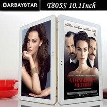 T805S CARBAYSTAR 10.1 pulgadas Octa Core Android 6.0 4G LTE computadora Inteligente android Tablet PC, el mejor regalo de Navidad para su Tablet pcs
