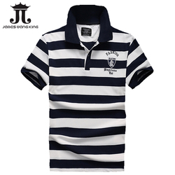Hot sale 2017 polo men shirt summer striped cotton casual polo homme shirt camisa james wang.jpg 250x250